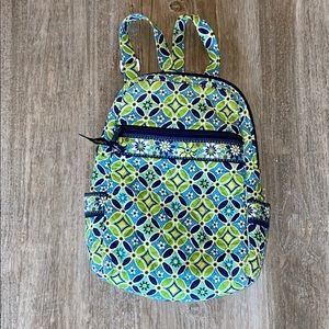 Vera Bradley Quilted Floral Backpack
